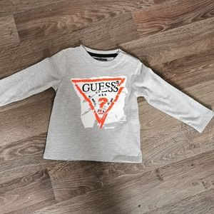 Guess baby long sleeve top 18m new